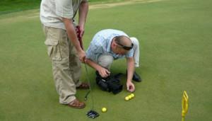 Репортаж гольф