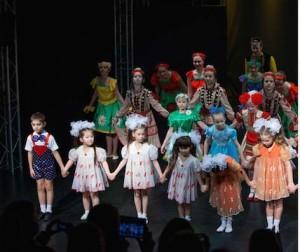 детские танцы репортаж